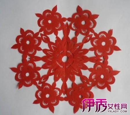 简单花朵剪纸图解欣赏 手把手教你剪出生动的纸花