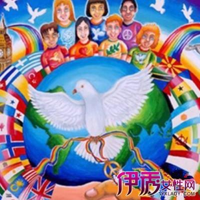【图】和平海报观赏 四大和平知识介绍
