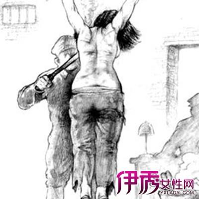 手绘女英烈受刑图片 介绍马克笔做的6步骤图片