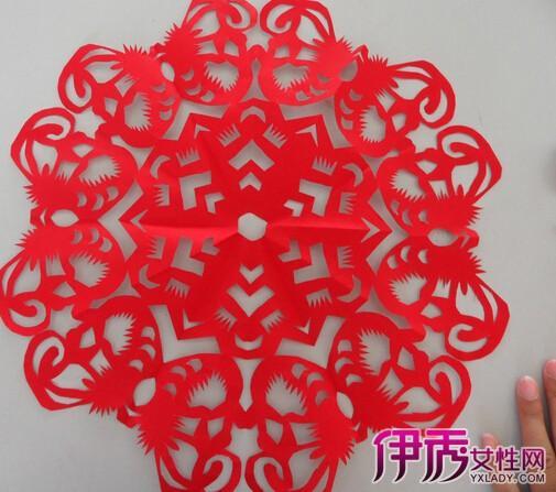 【剪纸团花】【图】剪纸团花教程大全