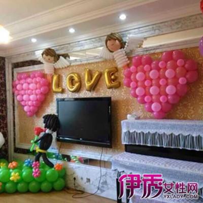【婚房气球装饰】【图】婚房气球装饰图片欣赏