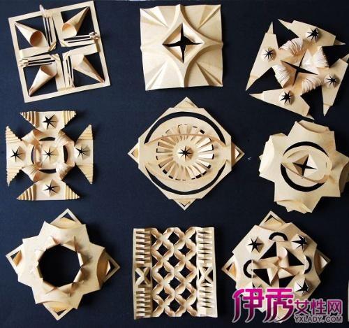【半立体构成折纸】【图】半立体构成折纸教程