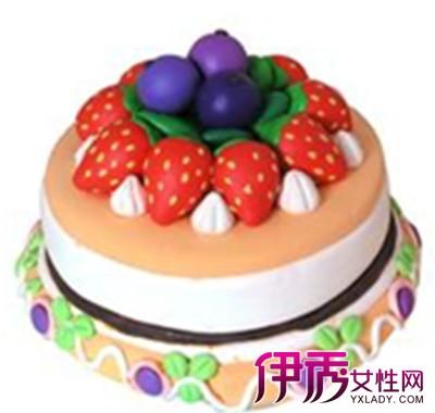 【超轻粘土蛋糕教程】【图】超轻粘土蛋糕教程图片