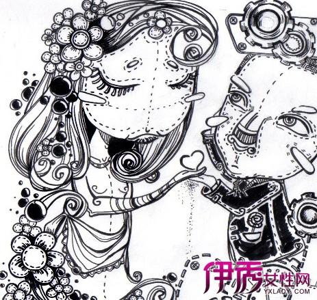 【图】黑白涂鸦手绘画图片 详解涂鸦者与涂鸦艺术家的区别