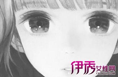 二次元眼睛泪目画法分享展示
