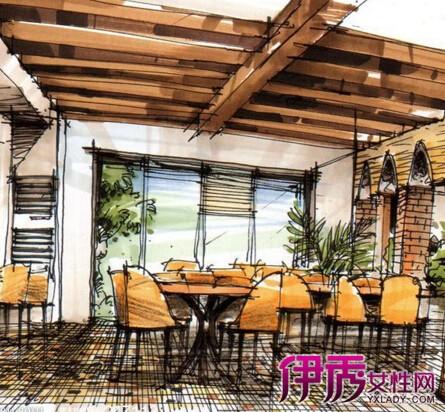 【西餐厅手绘效果图】【图】西餐厅手绘效果图怎么画