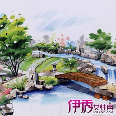 【图】手绘景观效果图欣赏 手绘的三大表现方法介绍
