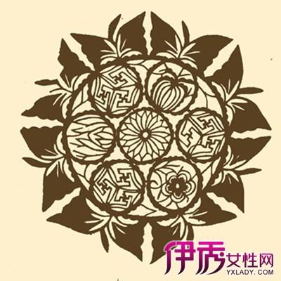 【图】剪纸团花图案的画法