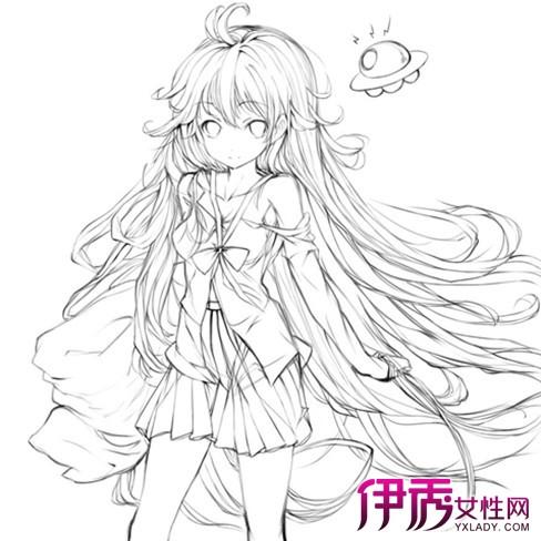 手绘动漫人物简笔画】【图】手绘动漫人物简笔画 ...