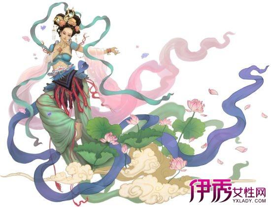 【图】手绘古装飘逸仙女图片鉴赏 手绘的技巧方法你知吗