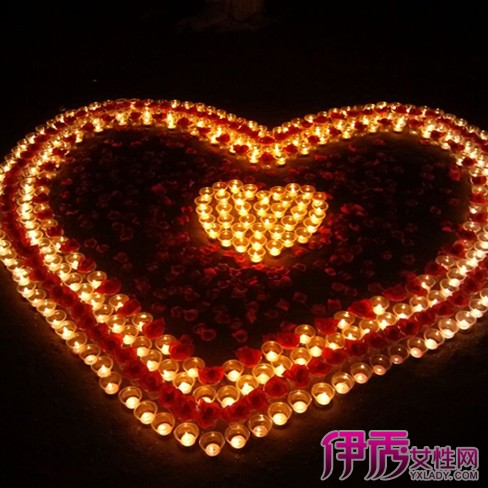 【图】用蜡烛摆心形的步骤是怎样的 教你如何俘虏人心图片