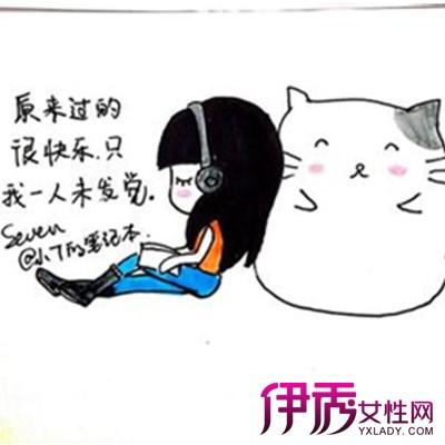 【图】韩国手绘日记简笔画欣赏 盘点手绘的艺术价值
