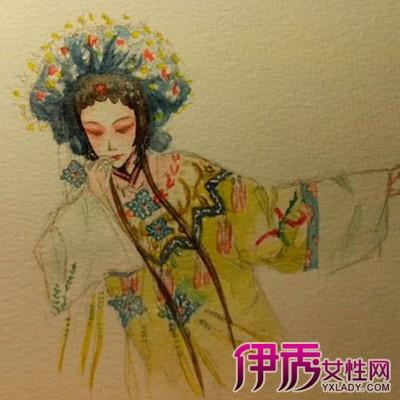 【图】花旦手绘图欣赏 手绘上色细节须知