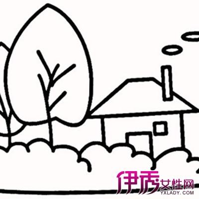 有关儿童风景简笔画示例 为你分析风景简笔画的创作要点