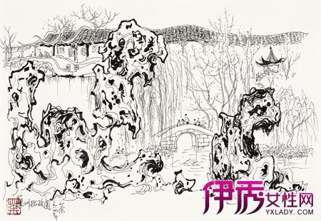 【苏州园林手绘】【图】欣赏苏州园林手绘