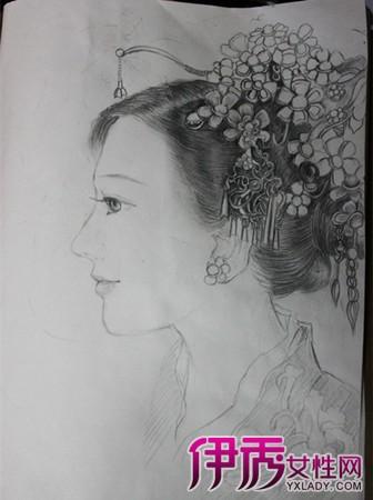 【图】铅笔手绘漫画人物女图片欣赏 4大点揭示手绘画的教育意义