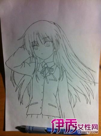 【铅笔手绘漫画人物女】【图】铅笔手绘漫画人物女