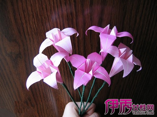 花朵折纸大全 图解花朵折纸方法