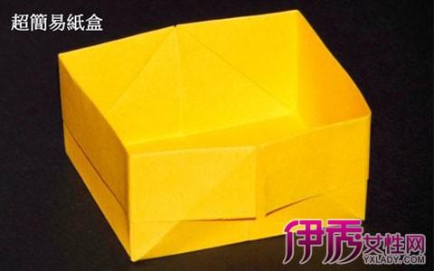 【简单折纸垃圾桶】【图】简单折纸垃圾桶的方法