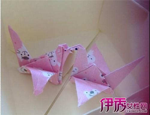 【折纸鹤步骤图】【图】折纸鹤步骤图