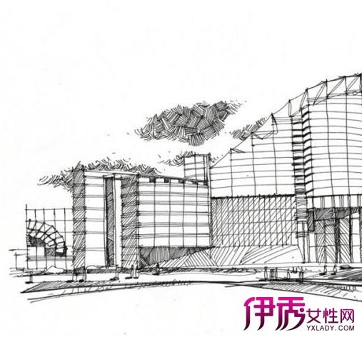 【图】北京建筑手绘图看点