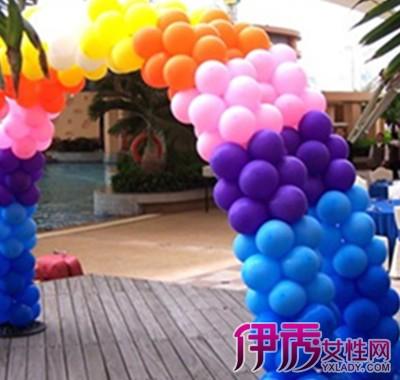 单个气球扎法分享展示图片