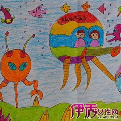 四年级儿童科技幻想画获奖作品6_第10页_手工小制作