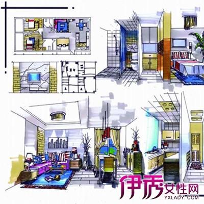 【图】欣赏室内手绘快题设计图片 手绘的几个技巧方法介绍