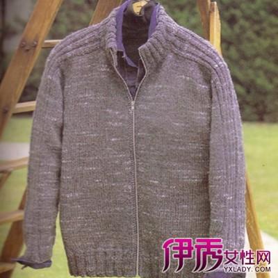 男士毛衣的编织图案花样大全