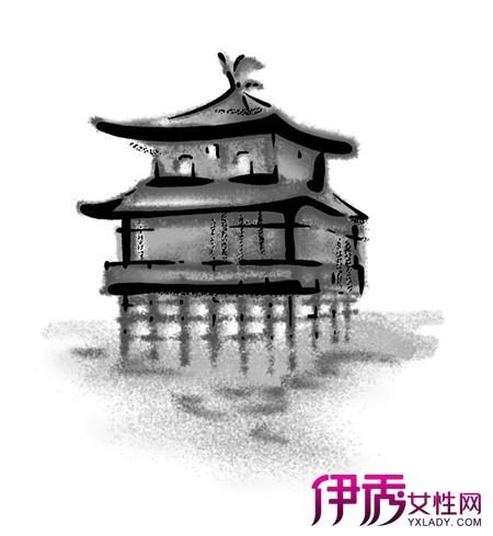 【图】亭子手绘效果图欣赏 表现手法丰富而自由