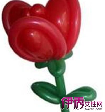 【图】魔术气球玫瑰花图案大全