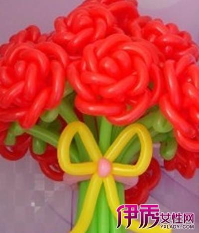 【魔术气球玫瑰花】【图】魔术气球玫瑰花图案大全图片
