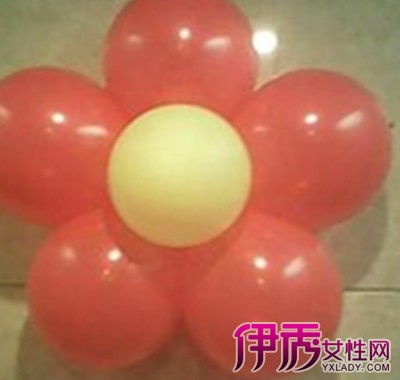 【花朵气球造型教程】【图】花朵气球造型教程图片