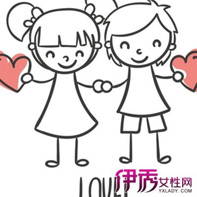 【手绘情侣简笔画】【图】手绘情侣简笔画