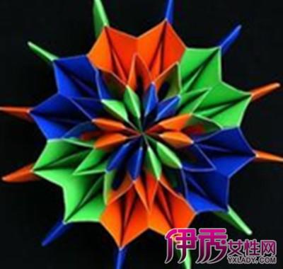 五角星的折法剪纸图片 让你轻松学会折纸