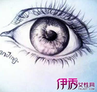【手绘古风眼睛画法】【图】手绘古风眼睛画法盘点