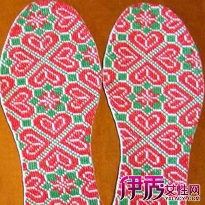【图】十字绣鞋垫花样大全讲解 十字绣鞋垫的注意事项