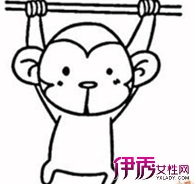 【图】卡通猴子的简笔画图片大全