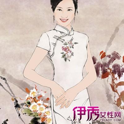 【图】手绘旗袍设计图大全 旗袍的缘由和曲线美