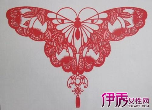 对称剪纸图案大全简单图解 两种对称剪法剪出美丽窗花