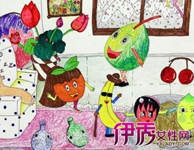 【水果创意图片】【图】绘画水果创意图片欣赏
