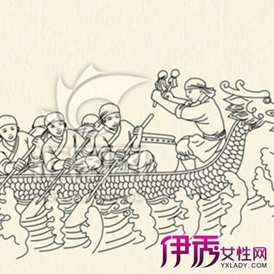 【龙舟手绘图片】【图】龙舟手绘图片展示?