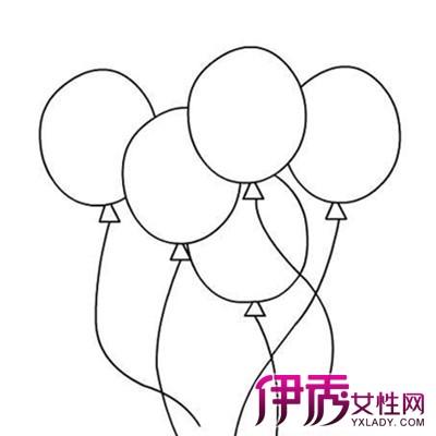 【图】萌萌哒幼儿简笔画气球 可爱的画风瞬间萌翻你