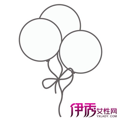 【图】萌萌哒可爱气球简笔画 提高孩子绘画能力很重要