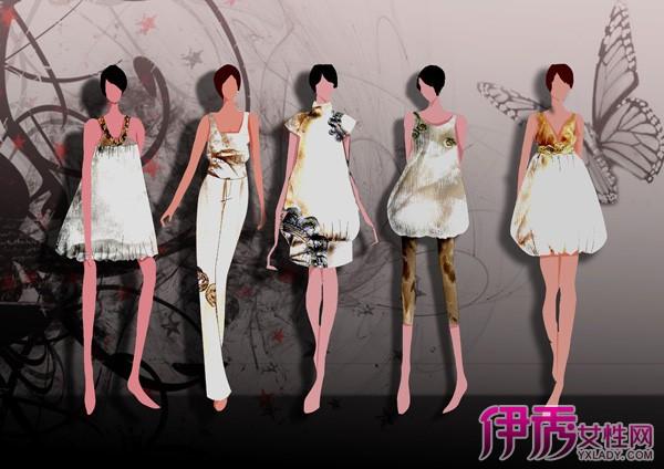 【图】服装店手绘服装 满足现代人diy的心理
