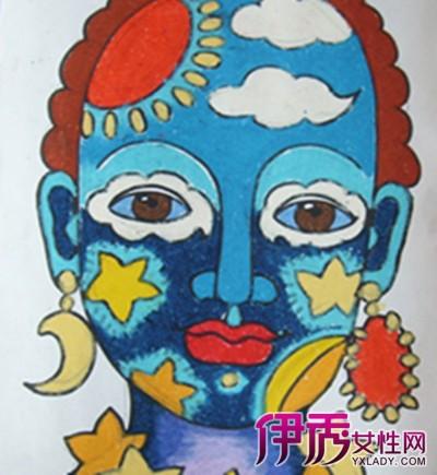 【儿童面具图片绘画】【图】儿童面具图片绘画图片