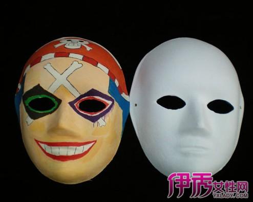 万圣节手绘恐怖面具图片展示 揭秘面具的真正作用