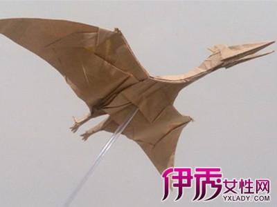 创意折纸风神翼龙展示 造型独特能够吸引人的注意力