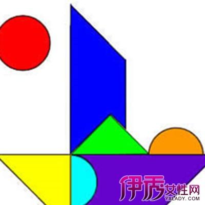 【图】智力七巧板拼图图案欣赏 几个方法教你如何快速拼好一个作品