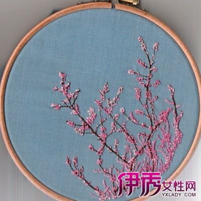 刺绣图案简单可爱图片欣赏 针法类别大起底